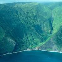 Cascada en Molokai por James Brennan