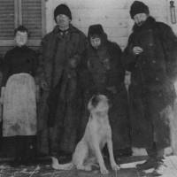En 1887 en Saranac Lake