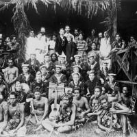 En las islas Samoa