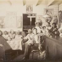 En un pub en Butaritari