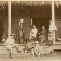 Familia en Vailima