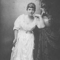Fanny en 1885 en Bournemouth