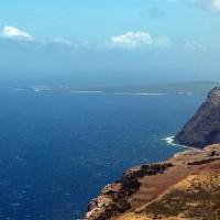 Molokai con la península de Kalapapua al fondo por Mark Kortum