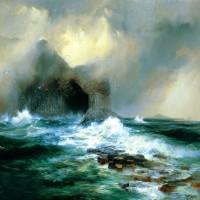 Oleo sobre lienzo de Thomas Moran