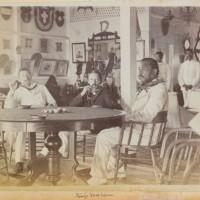 RLS con Lloyd y David Kalakaua